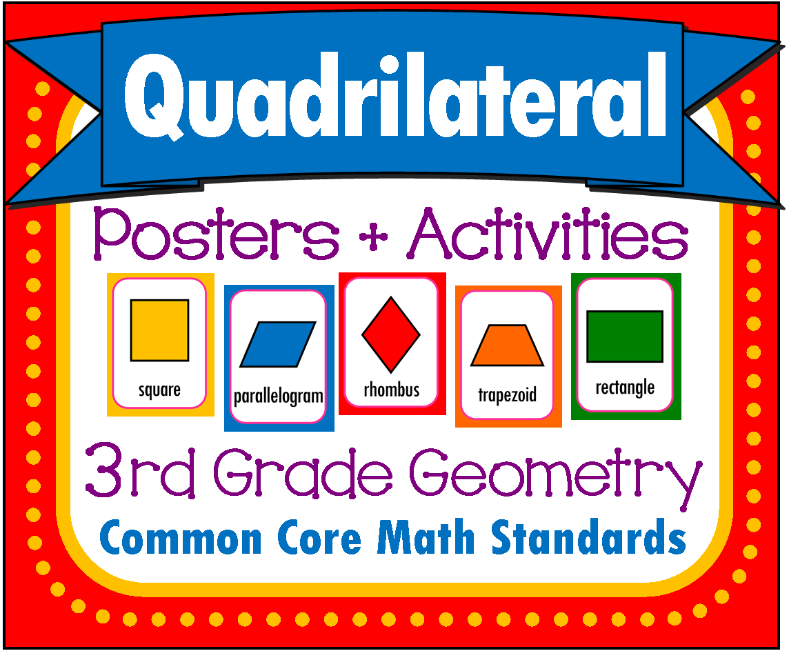 Classifying Quadrilaterals Worksheet 4th Grade