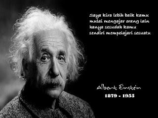 Kata Kata Bijak Tentang Pendidikan dan Akademis Albert Einstein