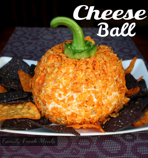 Perfect Fall Cheese Ball Recipe - Family Fresh Meals