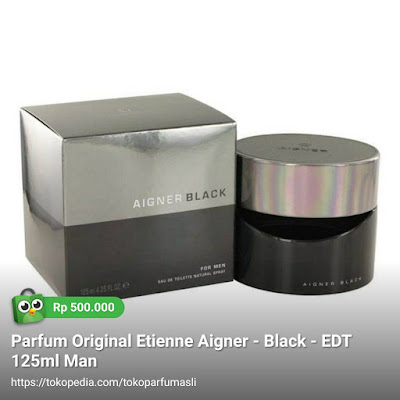 etienne aigner black edt 125ml man