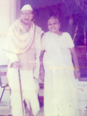 Sanjay B Dalal Maternal Grandparents - Chimanlal Shah and Hiraben Shah
