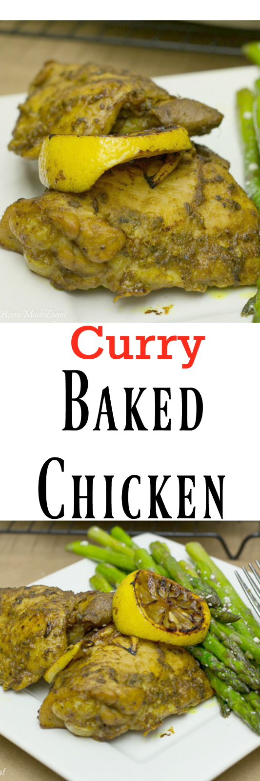 Curry Baked Chicken