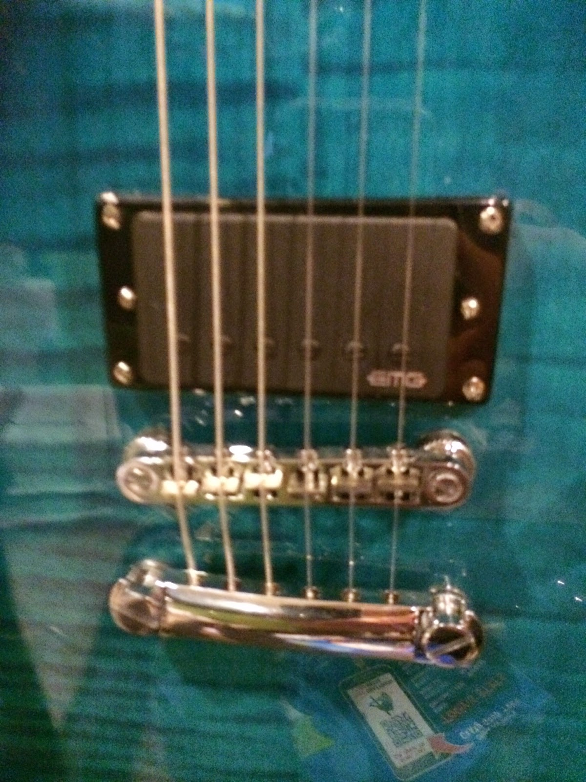above is the pickup installed in my epiphone custom shop les paul special ii plus top it goes in the bridge position and due to the abq push pull volume  [ 1200 x 1600 Pixel ]