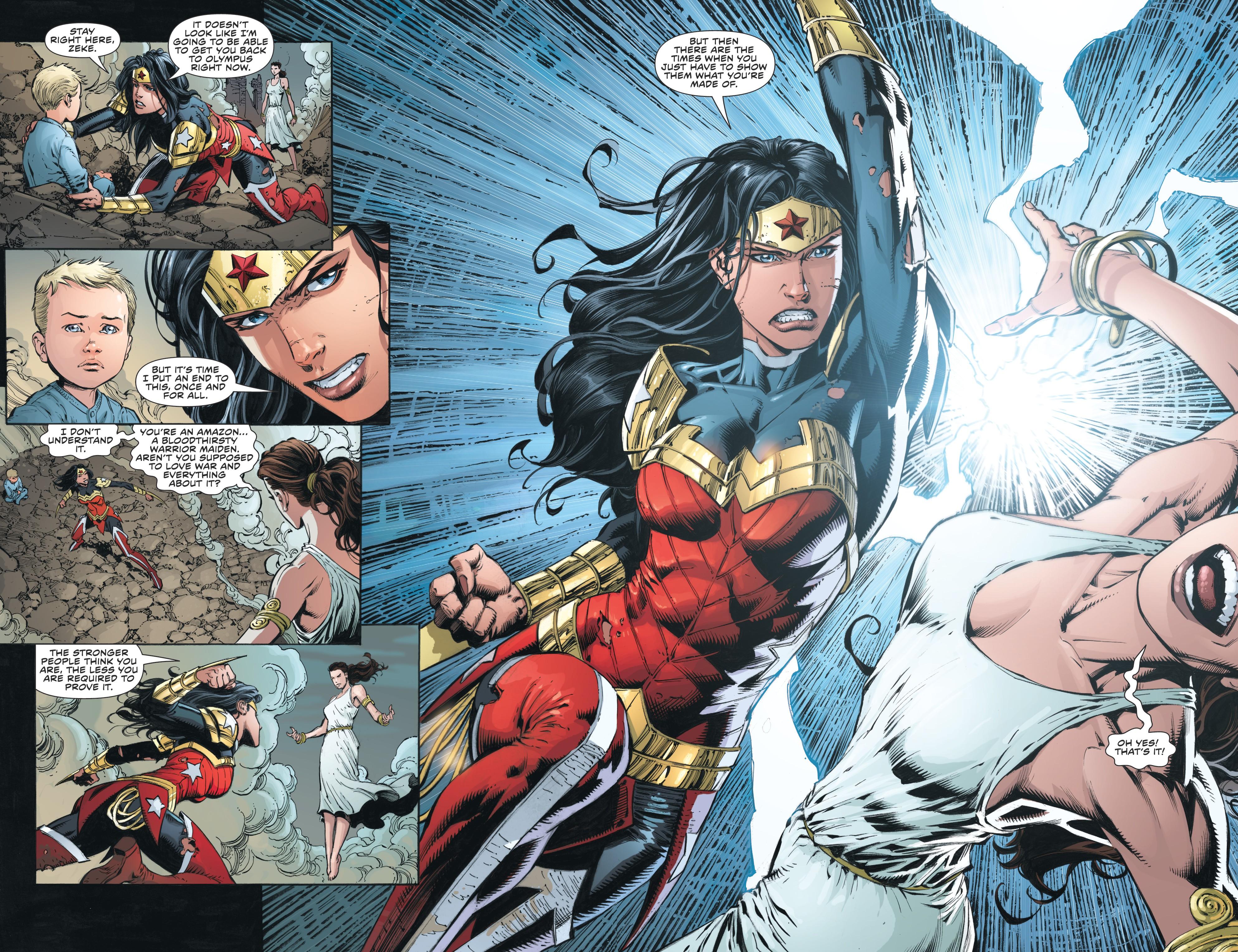 Read online Wonder Woman (2011) comic -  Issue #46 - 16