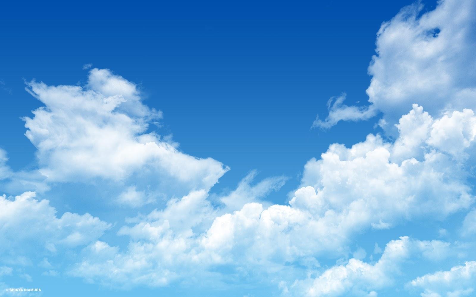 Blue Sky Wallpaper For Desktop Computer ~ Wall2U