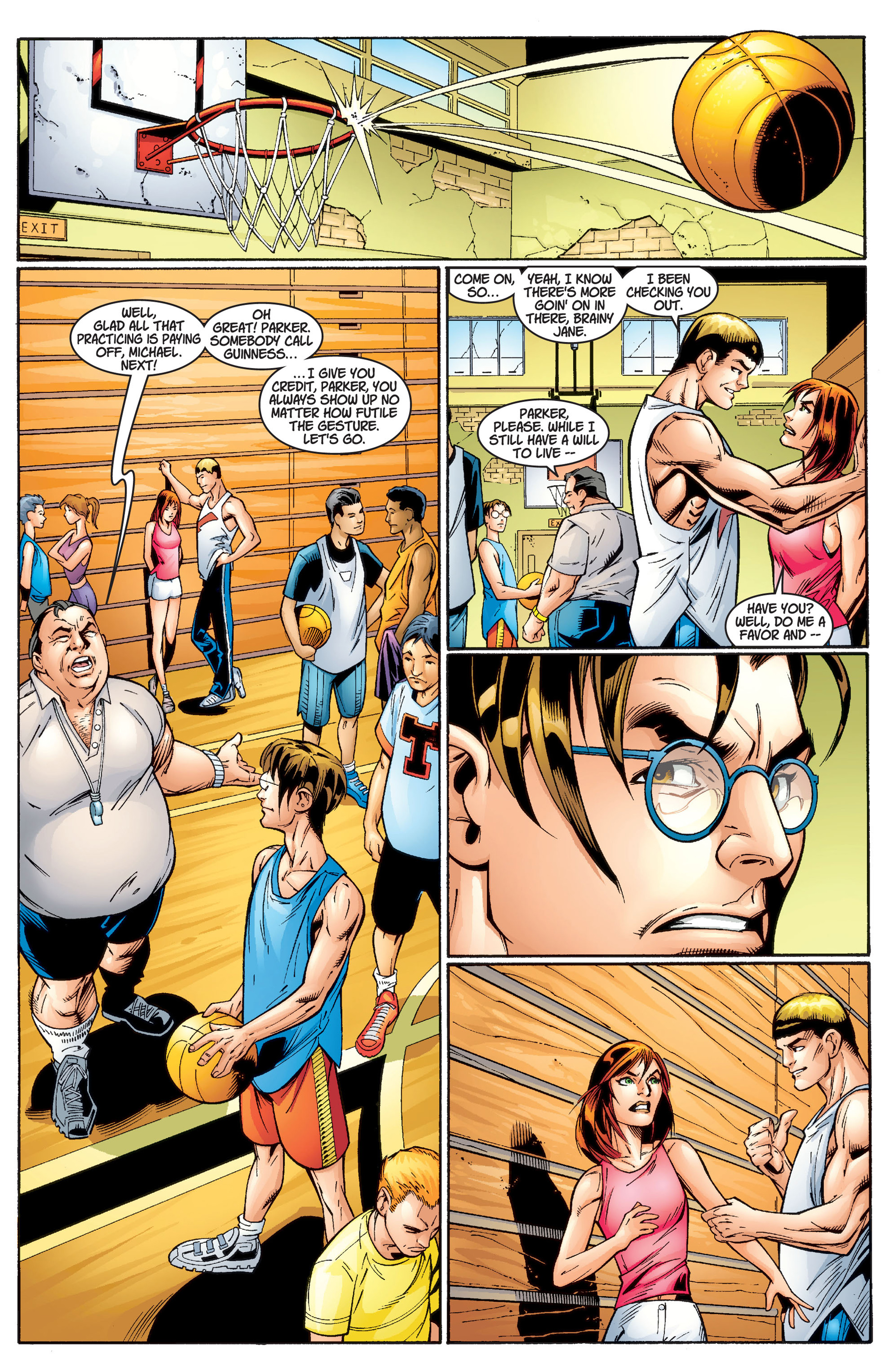 Read online Ultimate Spider-Man (2000) comic -  Issue #2 - 6