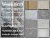 Pengecatan Tekstur Dinding Bangunan