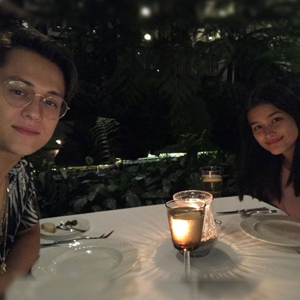 OMG! Enrique Gil and Liza Soberano Hold A Dinner Date