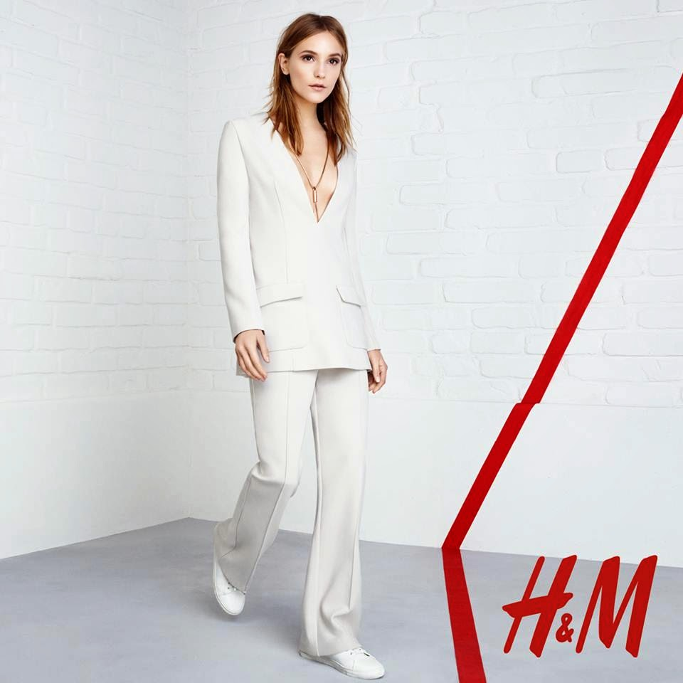 H&M 'Groovy Grace' Trend Update Lookbook Spring/Summer 2015