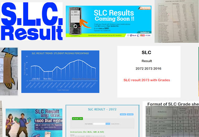 SLC result published