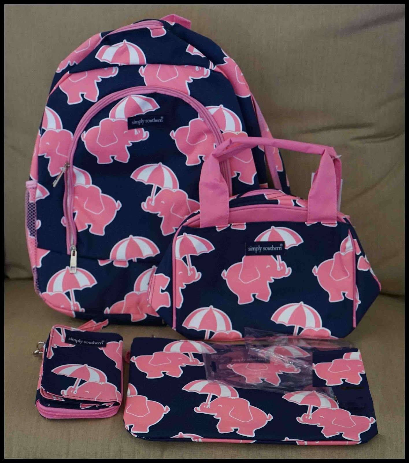NEW Backpack, Lunch Bag, Wallet, Cosmetic Bag, Wristlet