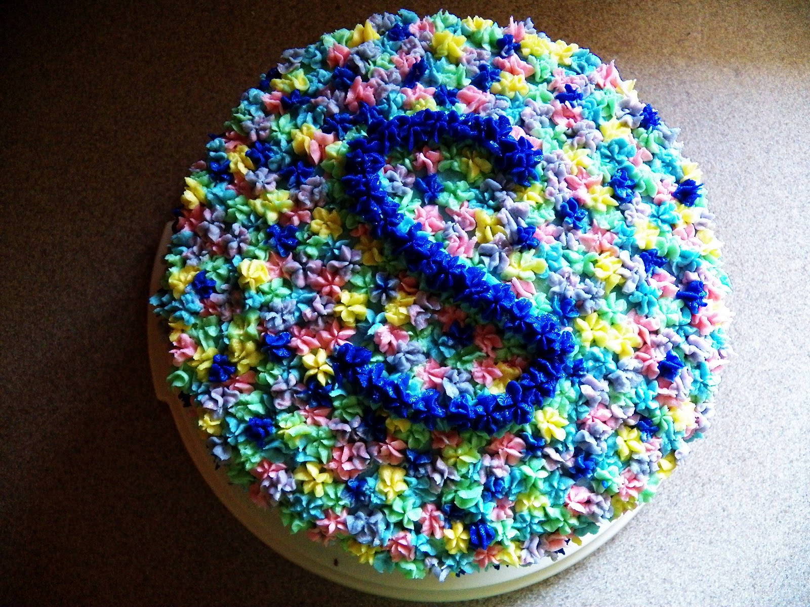 The Tasty Cheapskate S Is For Awesssome A Cake Decorating Idea