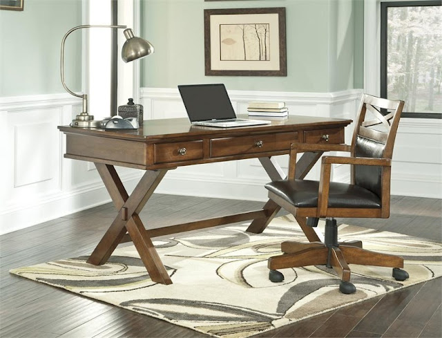 Home office desk furniture set depreciation