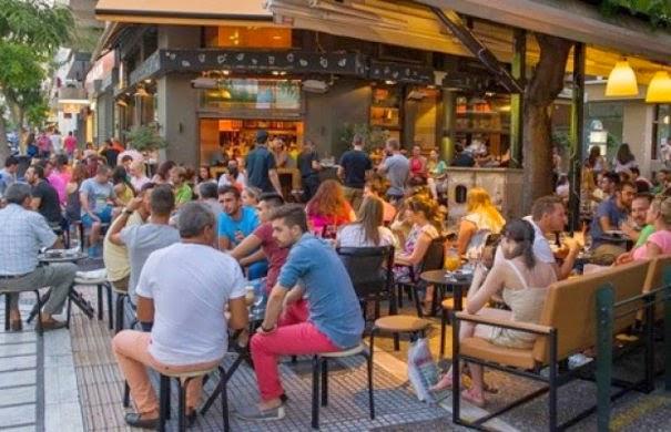 Οι Έλληνες πεινάνε στα καφέ