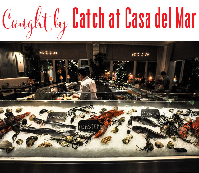 Catch at Hotel Casa del Mar seafood