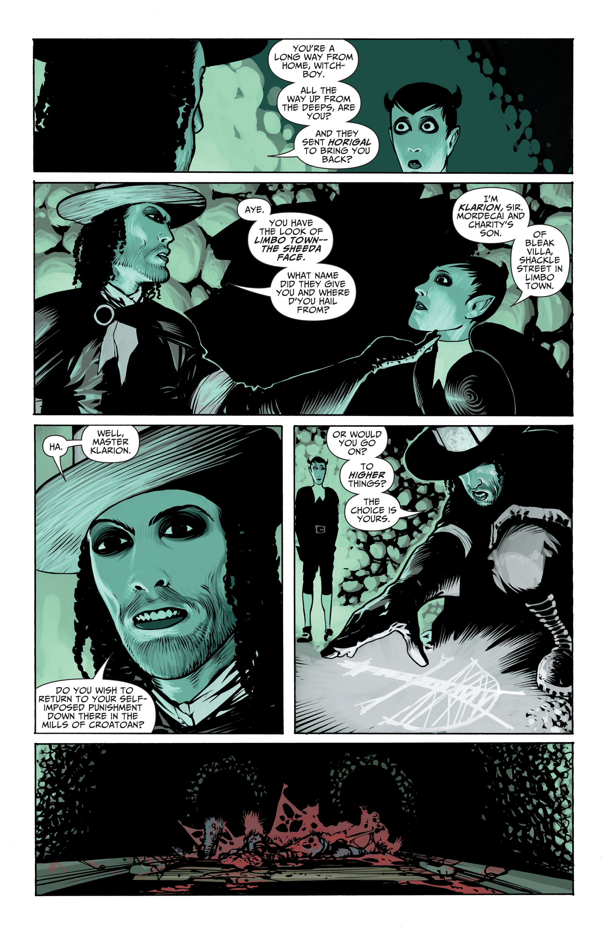 Read online Seven Soldiers: Klarion the Witch Boy comic -  Issue #2 - 8