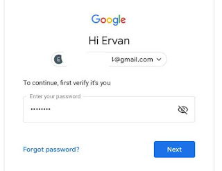 Hapus google akun di PC