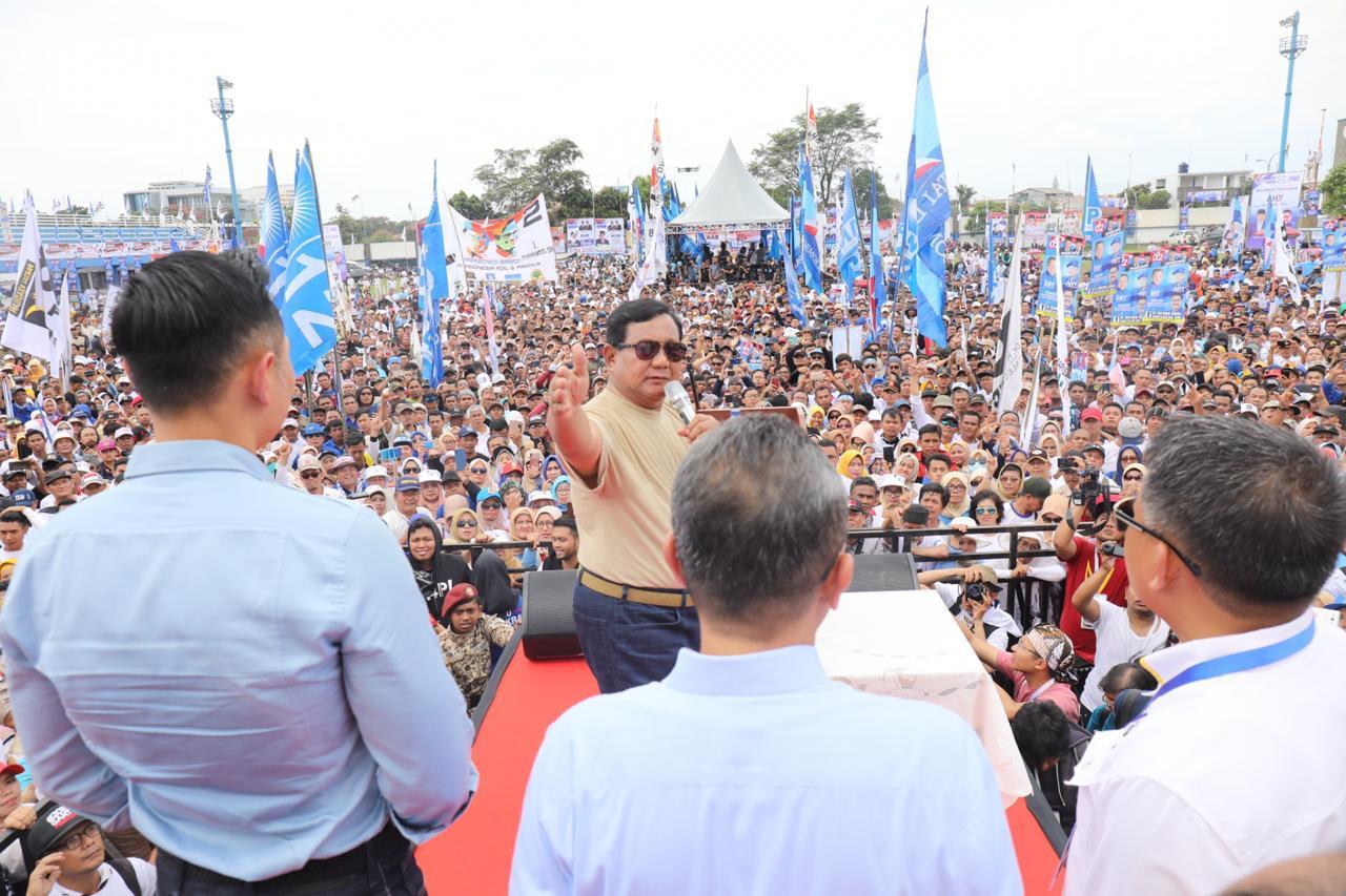 Soal 3 Kartu, Prabowo Lontarkan Sindiran Maut