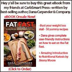 FAT FAST Cookbook by CarbSmart