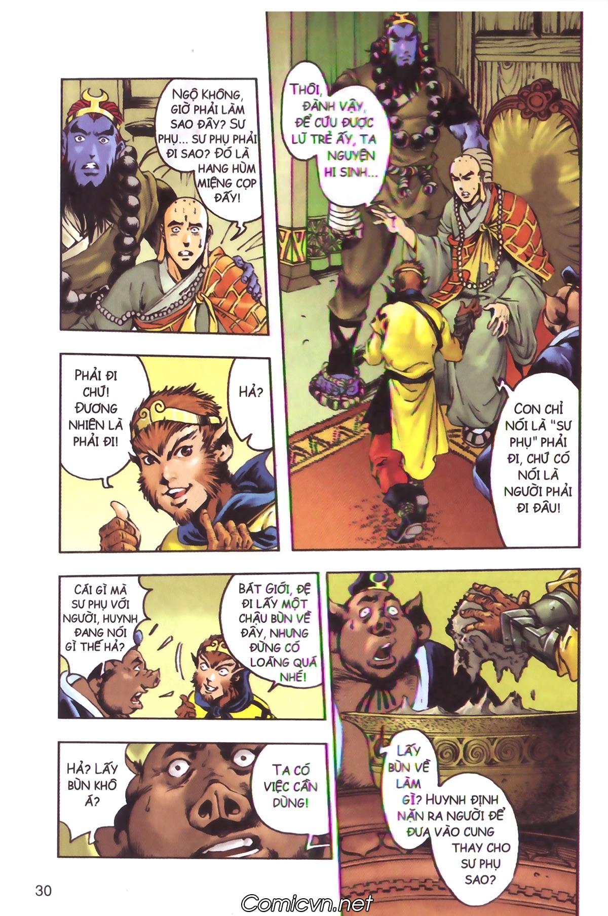 Tây Du Ký màu - Chapter 130 - Pic 10