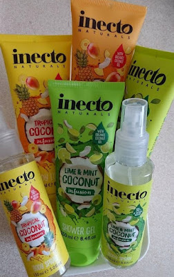 Inecto's Naturals Coconut Infusion Range