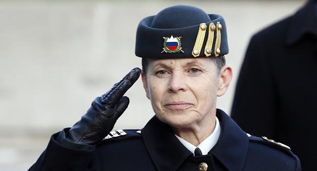 NATO'DA İLK KADIN GENEL KURMAY BAŞKANI: GENERAL ALENKA ERMENC