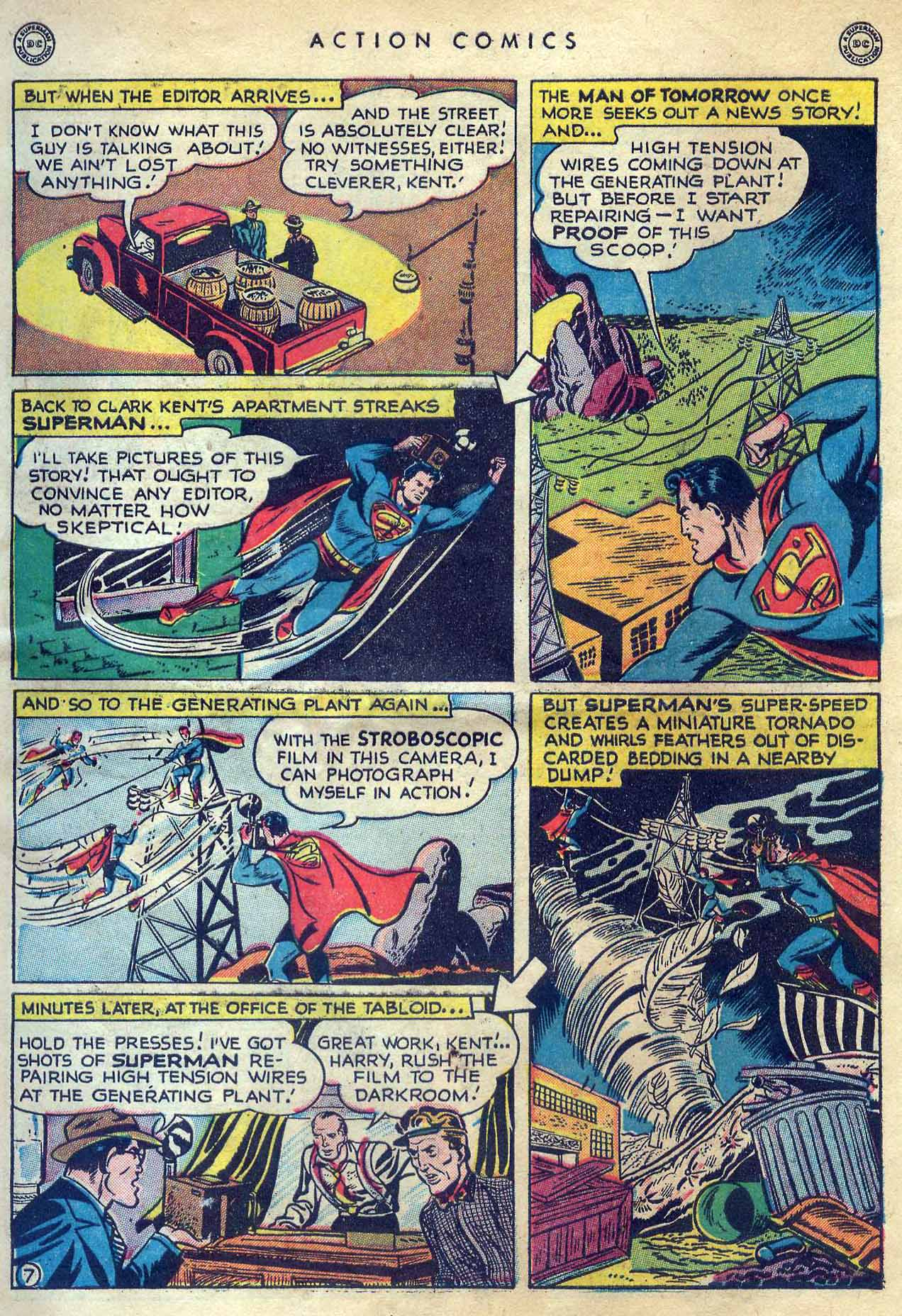 Read online Action Comics (1938) comic -  Issue #131 - 9