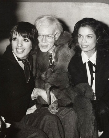 The Scene at Studio 54 Liza Minelli Andy Warhol Bianca Jagger