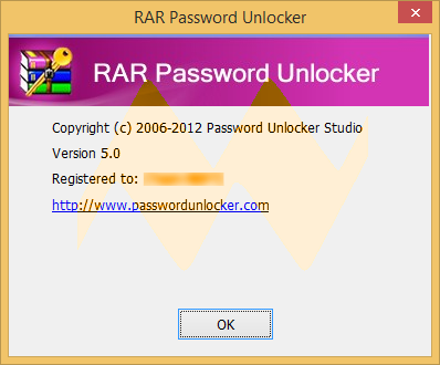 RAR Password Unlocker 5.0