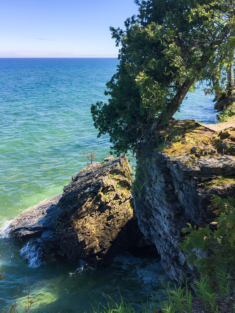 Cave Point Door County Park & Wisconsin Explorer: Cave Point Door County Park