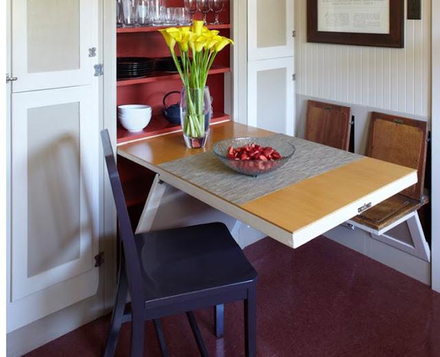 Rumah Minimalis dengan Kreasi Meja Makan