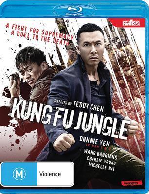 Kung Fu Jungle 2014 Dual Audio Hindi 720p BluRay 750mb