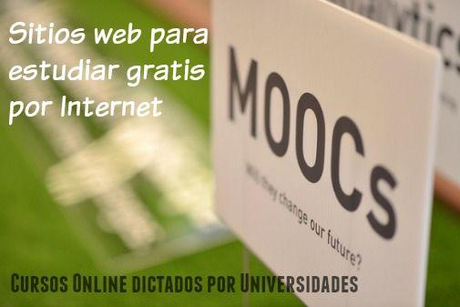 cursos online para estudiar gratis por internet