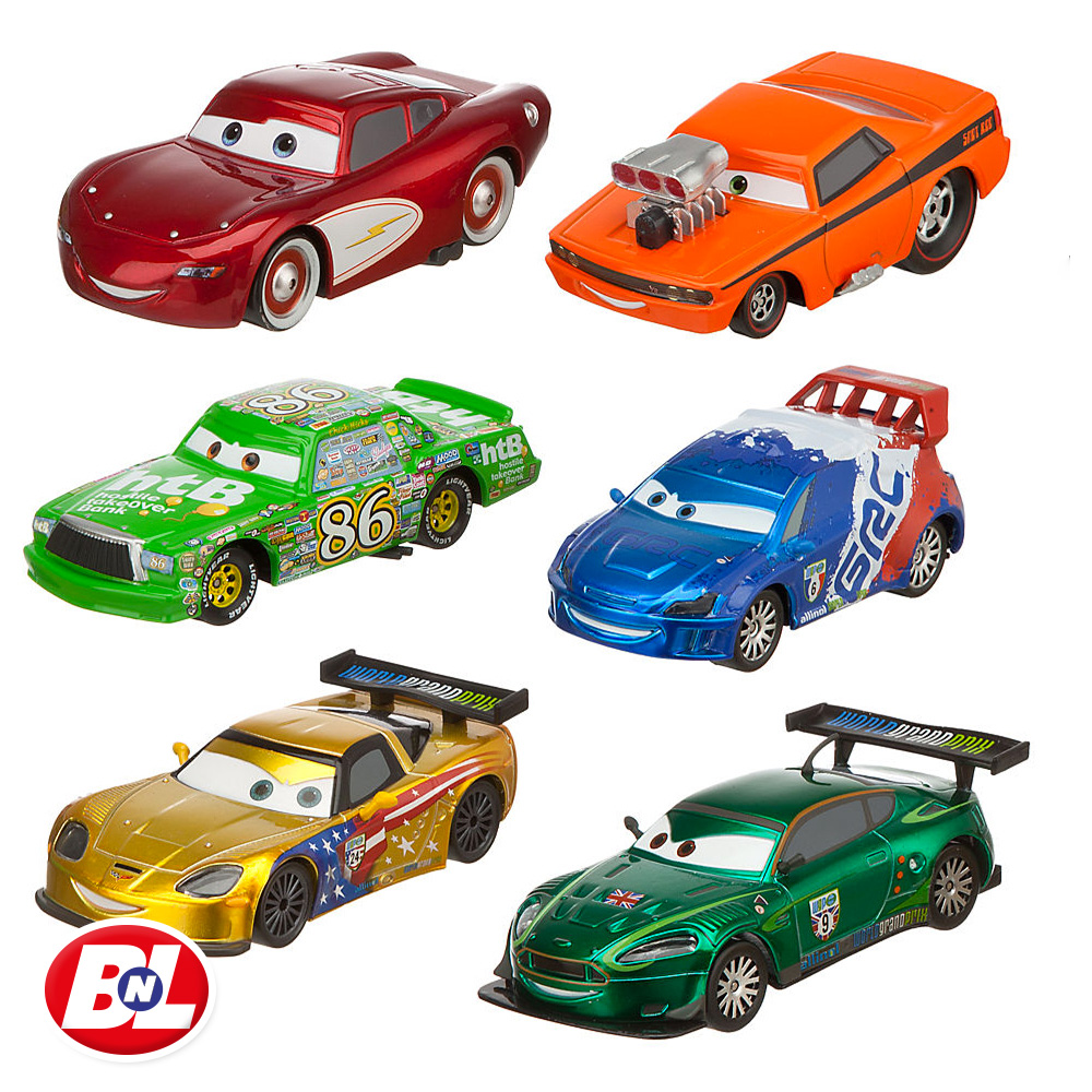 Welcome On Buy N Large Cars 2 Lightning Mcqueen Silver: WELCOME ON BUY N LARGE: Cars 2: World Of Racing
