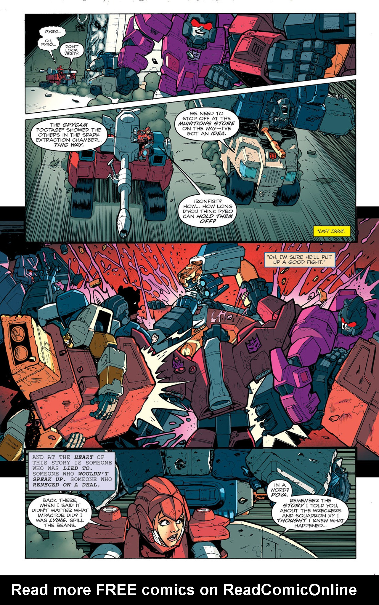 Read online Transformers: Last Stand of The Wreckers comic -  Issue #5 - 8