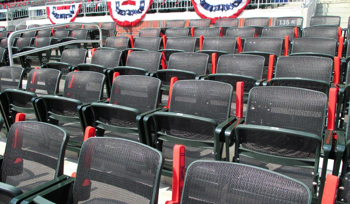 las vegas baseball sedili rinfrescanti