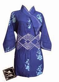 Model Baju Batik Kerja Bank Terbaru