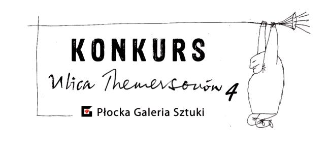 """Logo IV edycji konkursu plastycznego """"Ulica Themersonów"""""""