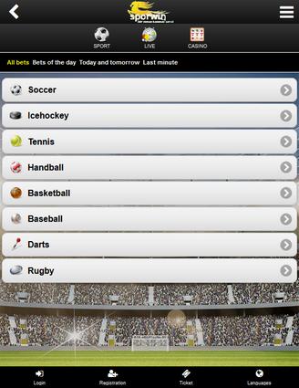 Sporwin Screen