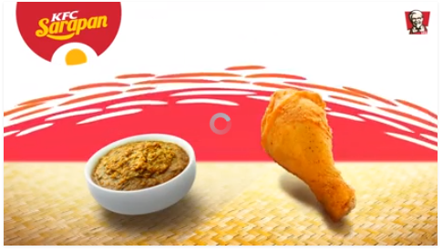 KFC Rendang Pagi untuk Semua