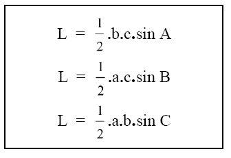 Luas Segitiga Dalam Trigonometri Materi Lengkap Matematika