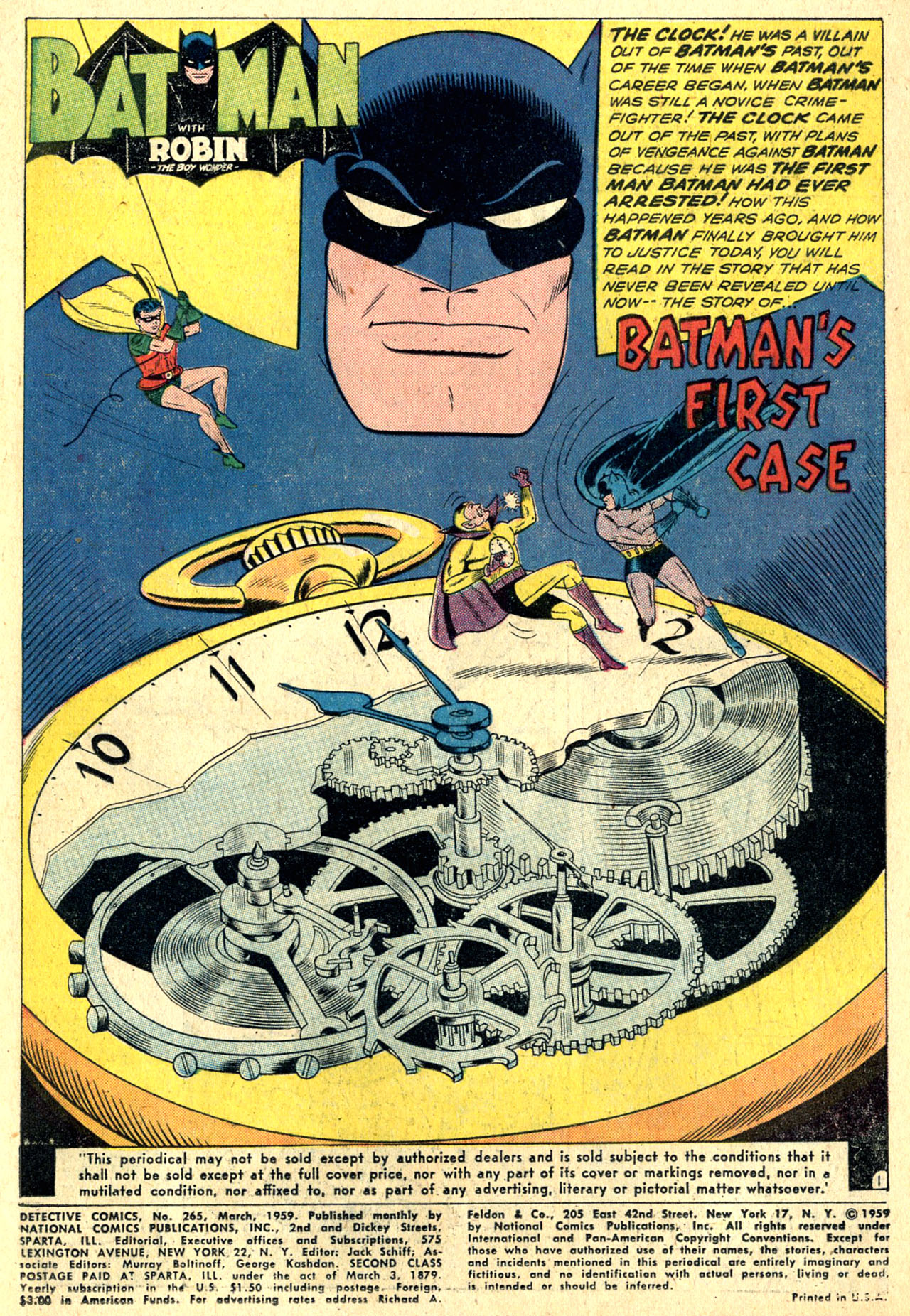 Read online Detective Comics (1937) comic -  Issue #265 - 3