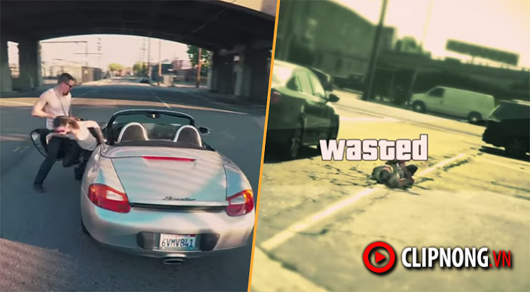 GTA V được tái tạo ngoài đời thật, thật đến mới khó tin!
