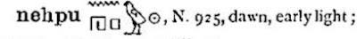 Budge's Egyptian Hieroglyphic Dictionary