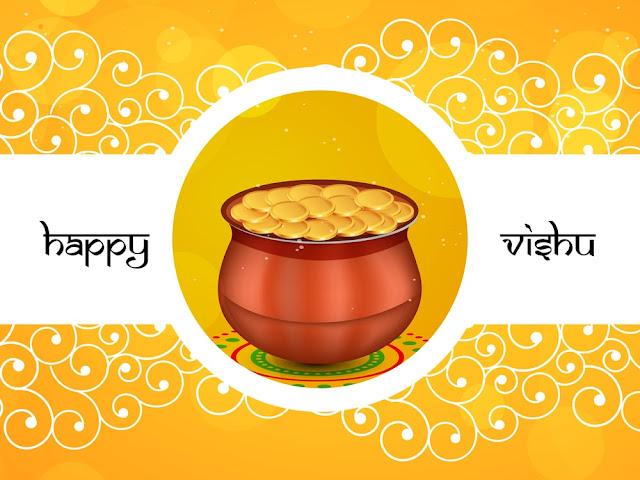 Happy Vishu Wallpapers