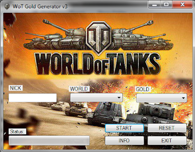 world of tanks bonus code generator free download