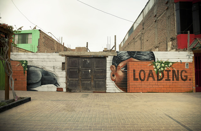 Street Art By Jade For Proyecto Afuera in Pisco, Peru. 1