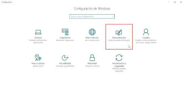 Cómo cambiar el fondo de Inicio de Sesión en Windows 10