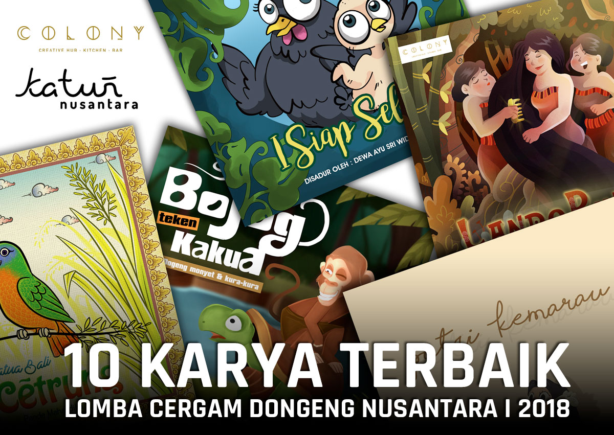 The Best 10 Cergam Dongeng Nusantara 1