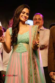 Actress Naina Ganguly Stills in Long Dress at Vangaveeti Audio Launch  0003.JPG